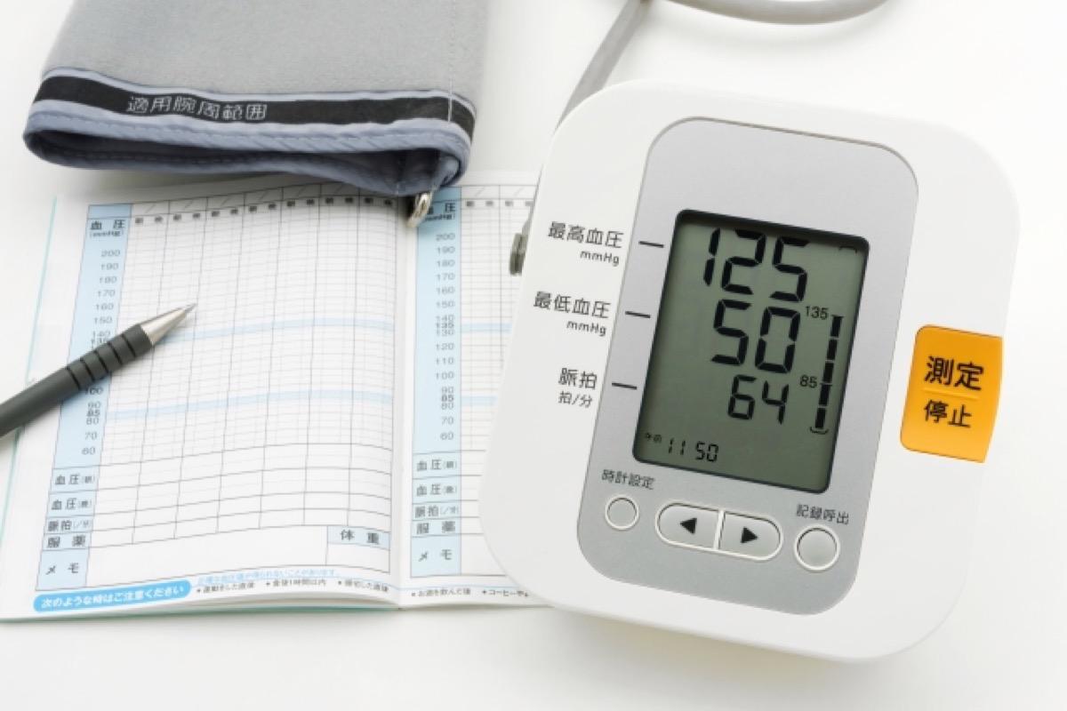 脳腫瘍と血圧計